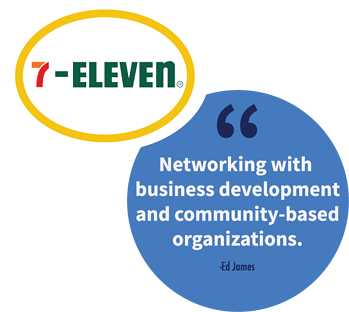 A franchise sales tip from Ed James, Franchisee Recruiting Specialist at 7-Eleven.