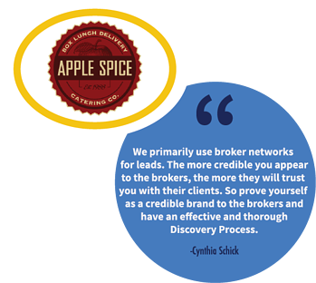 A franchise sales tip from Cynthia Schick, Senior Business Development Manager at Apple Spice.