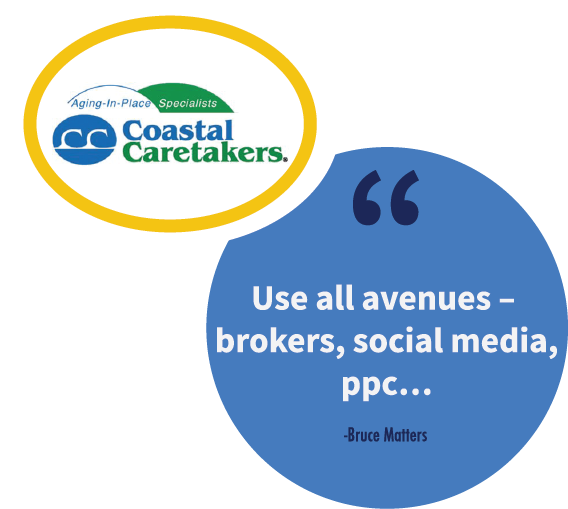 A franchise sales tip from Bruce Matters, CEO of Coastal Caretakers.