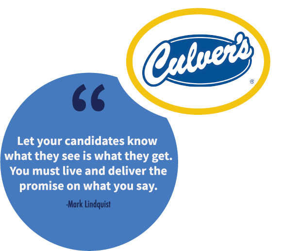A franchise sales tip from Mark Lindquist, Franchise Development Manager at Culver's.