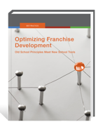 "Download your free copy of ""Optimizing Franchise Development"" today."