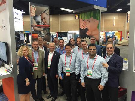 FranConnect team at the 2016 IFA Annual Convention