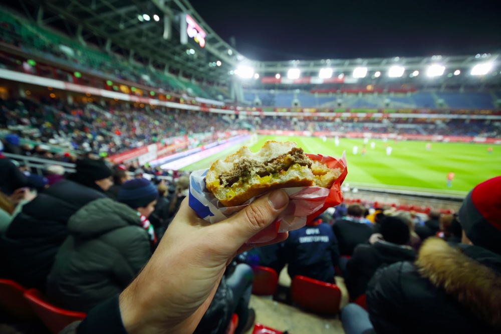 Consider franchise locations in non-traditional places, such as stadiums.
