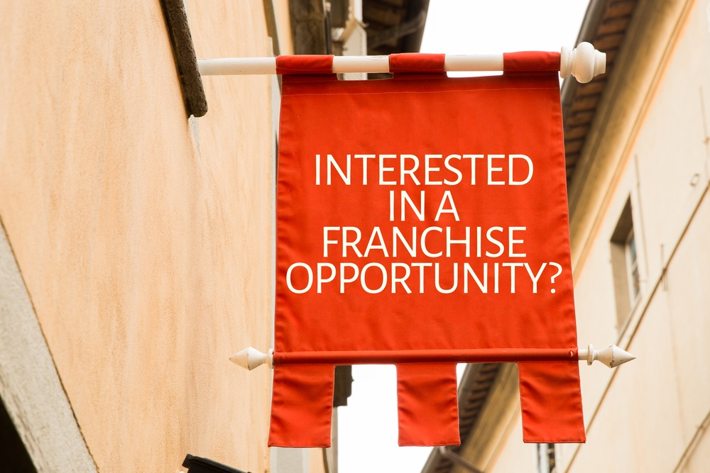 Franchise recruitment sites should have a clear franchise opportunities call-to-action.