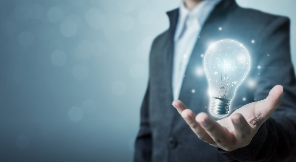 light bulb representing ideas and insights